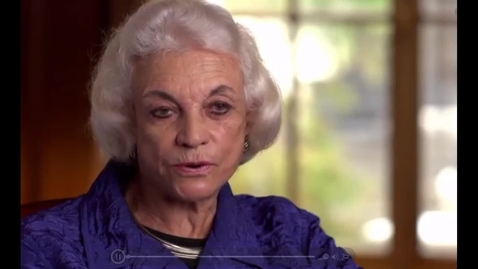 Thumbnail for entry Sandra Day O'Connor: First Female Justice of the U.S. Supreme Court