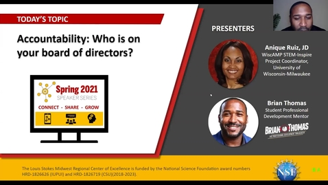 Thumbnail for entry Accountability: Who is on your board of directors?