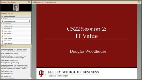 Thumbnail for entry dwoodhou MP4s_C522 Woodhouse_C522 Woodhouse Session 2 IT Value