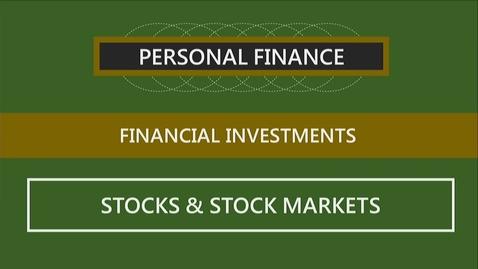 Thumbnail for entry F152 12-2 Stocks & Stock Markets