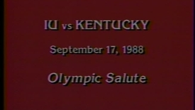 Thumbnail for entry 1988-09-17 vs Kentucky - Halftime