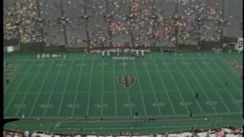 Thumbnail for entry 1986-10-25 vs Michigan - Pregame