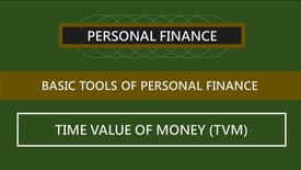 Thumbnail for entry F152 02-3 The Time Value of Money