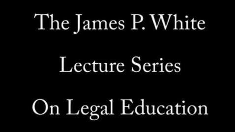 Thumbnail for entry Antonio Garcia-Padilla (2008 Mar. 4), The Internationalization of Legal Education