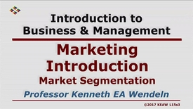 Thumbnail for entry X100_Lecture 15-Segment 3_Market Segmentation