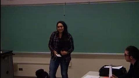 Thumbnail for entry Blanca Saldivar - Speech #4 Transformational Speech