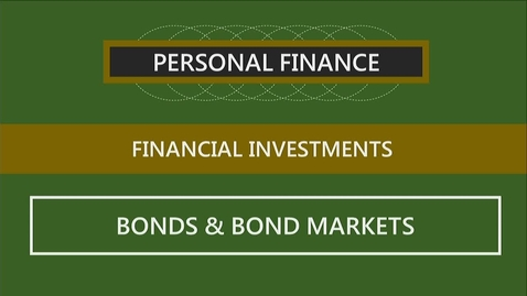 Thumbnail for entry F260 12-3 Bonds & Bond Markets