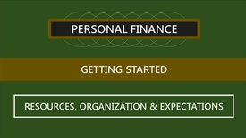 Thumbnail for entry F260 01-3 Course Resources, Organization & Expectations
