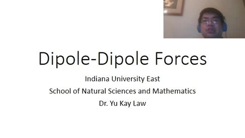 Thumbnail for entry Dipole-Dipole Forces