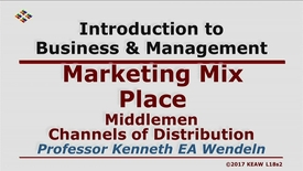 Thumbnail for entry X100 18-2 Middlemen Channels of Distribution