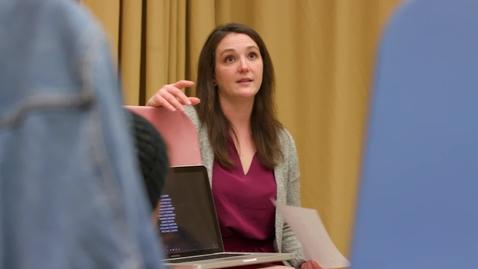 Thumbnail for entry 2018 Lieber Memorial Teaching Associate Award - Kate Altizer