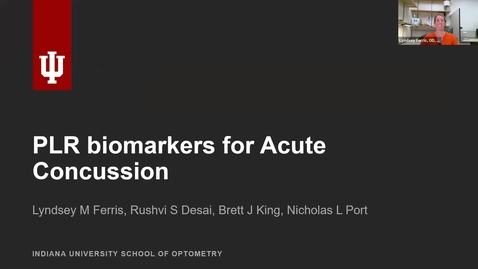 Thumbnail for entry PLR biomarkers for acute concussion