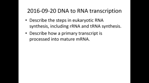 Thumbnail for entry WL | MCT | 160920 | Leung | DNA to RNA