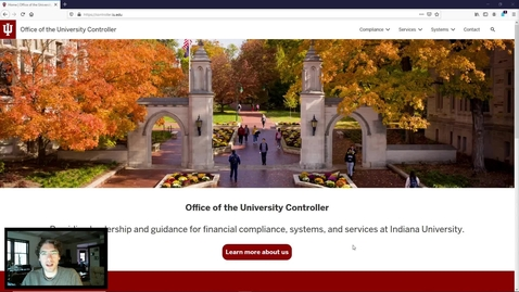 Thumbnail for entry IU Accounting Standards Book - UCO Website Quick Start Guide
