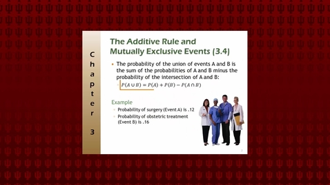Thumbnail for entry Additive and Multiplicative Rules of Probability