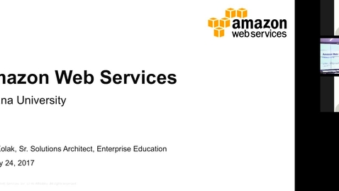 Thumbnail for entry Amazon Web Services January 24, 2017