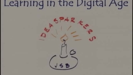 "Thumbnail for entry John Seely Brown, ""Learning in the Digital Age"""