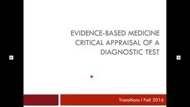 Thumbnail for entry Transitions I Diagnosis 160815 Kreisle