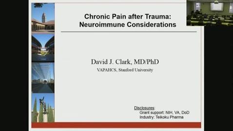 Thumbnail for entry David J. Clark, MD/PhD