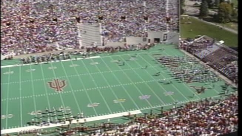 Thumbnail for entry 1996-10-12 vs Iowa - Halftime (Homecoming)