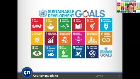 Thumbnail for entry Teaching SDGs in the Local and Global Classroom