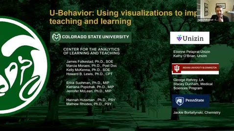 Thumbnail for entry U-Behavior: Impact on Student Behavior and Performance