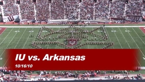 Thumbnail for entry 2010-10-16 vs Arkansas State - Halftime (Homecoming)