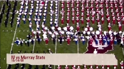 Thumbnail for entry 2008-09-06 vs Murray State - Halftime (Band Day)