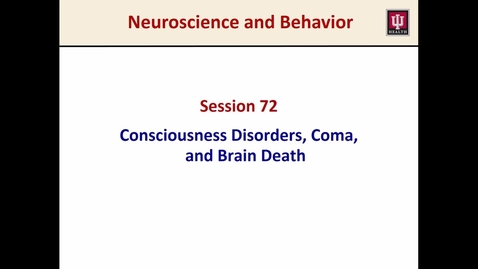 Thumbnail for entry S.72, N&B, NW, disorders of consciusness, brain death, 2017, Marfurt