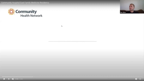 Thumbnail for entry FM SIG Residency Program Panel Meetings – Community East 8/6/20