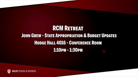 Thumbnail for entry 2017_02_20_RCM Retreat - 02 State Appropriation (Upload 03/03/17)
