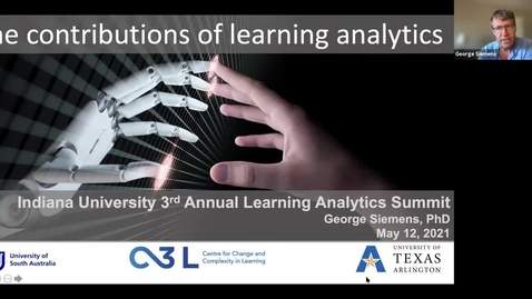 Thumbnail for entry Learning Analytics and Complex Systems in Higher Ed