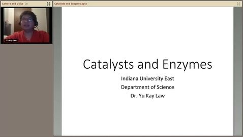 Thumbnail for entry Catalysts and Enzymes