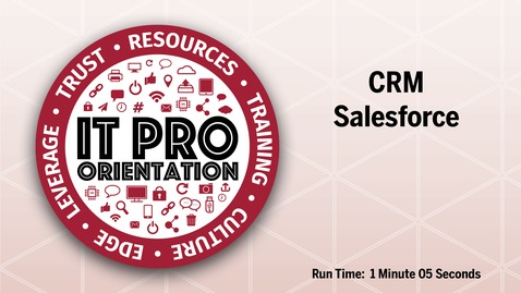 Thumbnail for entry CRM-Salesforce