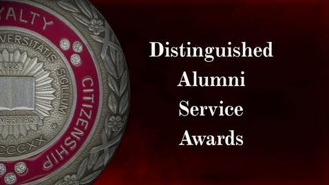 Thumbnail for entry 2012 Distinguished Alumni Service Awards