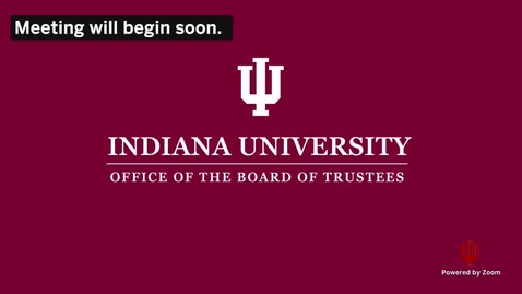 Thumbnail for entry Board Of Trustees - October 1, 2020 - Public Meeting Session