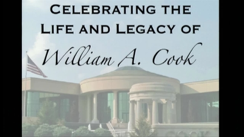 Thumbnail for entry The life and legacy of William A. Cook