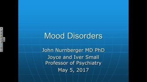 Thumbnail for entry S48, NW, N&B Mood Disorders, Dr. John, 2017