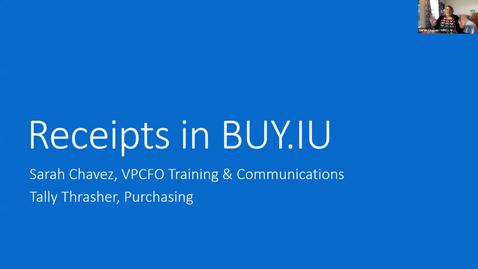 Thumbnail for entry BUY.IU Receipts FAQ