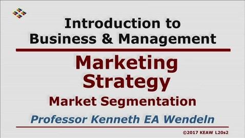 Thumbnail for entry W200_Lecture 20-Segment 2: Market Segmentation