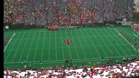 Thumbnail for entry 1987-10-24 vs Michigan - Pregame (Homecoming)