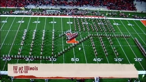Thumbnail for entry 2008-10-18 at Illinois - Halftime