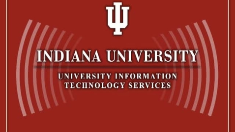 Thumbnail for entry Matt Davy, IU chief network architect: IU's new next-generation wireless initiative