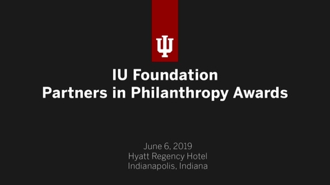 Thumbnail for entry Partners in Philanthropy 2019
