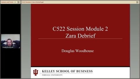 Thumbnail for entry dwoodhou MP4s_C522 Woodhouse II_C522 Summer 2013 Session 3 Zara Debrief