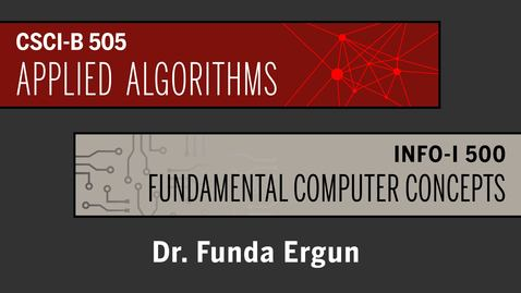 Thumbnail for entry 00-Algorithm Basics-Intro