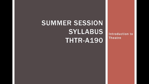 Thumbnail for entry SummerSyllabusIntro