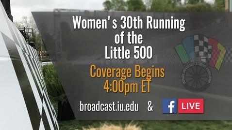 Thumbnail for entry IUSF Little 500 Women's Race