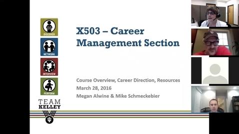 Thumbnail for entry March 28, 2016 - Career Management Webinar