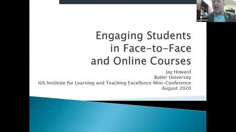 Thumbnail for entry 2020 Teaching Mini-Conference: Welcome/Keynote/Breakout Session  1/Lunch panel